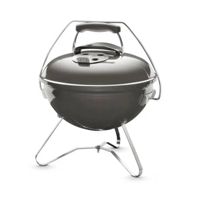 Weber Smokey Joe Premium Smoke Charcoal BBQ + Free Cook Book