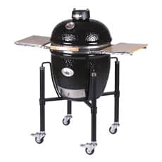Monolith Classic BBQ Guru PRO-Series 2.0 - Black with Cart