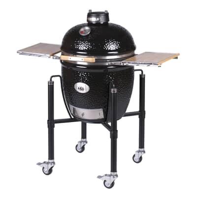 Monolith Classic BBQ Guru PRO-Series 2.0 - Black with Cart