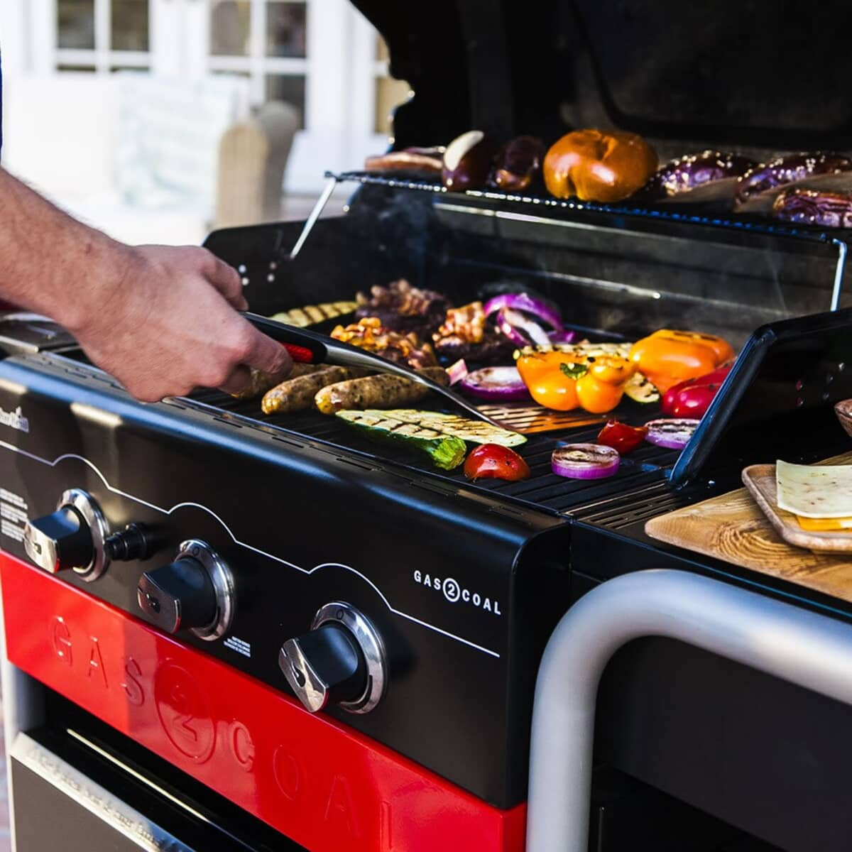 Char Broil Gas2coal 330 Hybrid Grill 6