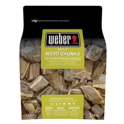 Weber� Apple Wood Chunks - 1.5kg