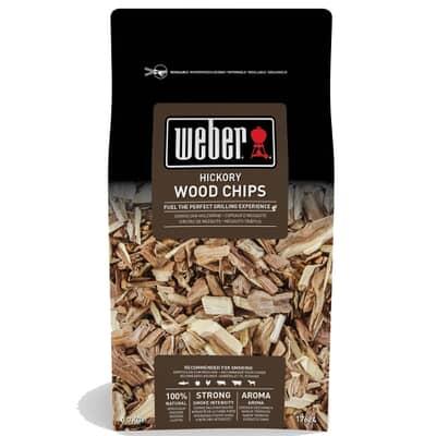 Weber� Hickory Wood Chips - 0.7kg