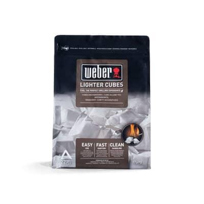 Weber® Lighter Cubes - White