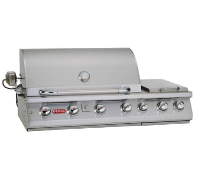 Bull 7 Burner Premium Built In Gas BBQ Natural Gas