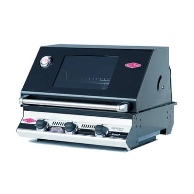 Beefeater Signature S3000E 3 Burner Black Gas BBQ