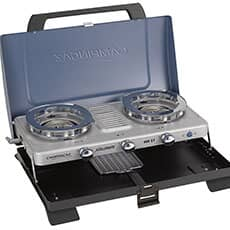 Campingaz Series 400 ST Double Burner and Toaster Gas BBQ
