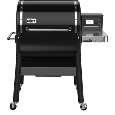 Weber� SmokeFire EX4 Black Wood Fired Pellet Grill BBQ