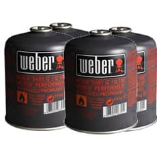 Weber� Disposable Gas Canister Small Pack (4)