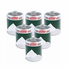 Coleman C500 Gas Canister x 6 - Extra Value Multipack