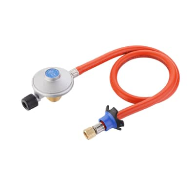 Cadac EN417 Threaded Disposable Gas Canister Regulator and Hose Kit