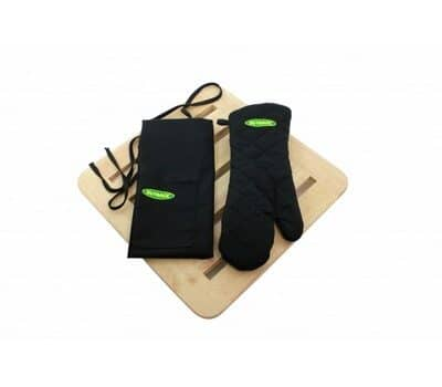 Outback BBQ Apron and Mitt Set