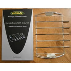 Outback Kebab Rack with Skewers