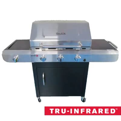 Char Broil Performance TRU Infrared 3 Burner Gas BBQ