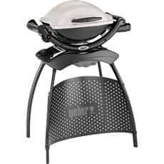 Weber� Q� 1000 Portable Gas BBQ with Stand - Titanium