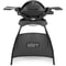 Weber Q 1200 Black with Stand Gas BBQ 2