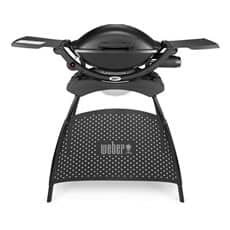 Weber� Q 2000 Gas Barbeue in Black with Stand