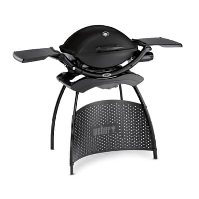 Weber® Q™ 2200 Black Gas BBQ - with Stand