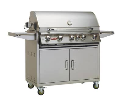 Bull Brahma Cart Gas BBQ (Natural Gas)