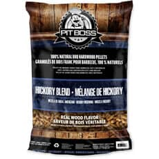 Pit Boss Grill Fuel All Natural Wood Pellets 9kg - Hickory Blend