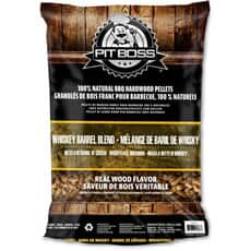 Pit Boss Grill Fuel All Natural Wood Pellets 9kg - Whiskey Blend