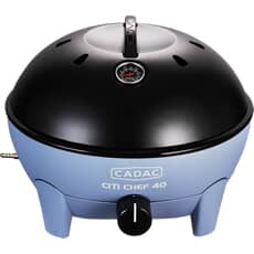 Cadac Citi Chef 40 Flint Blue (Matt) Table Top Gas BBQ