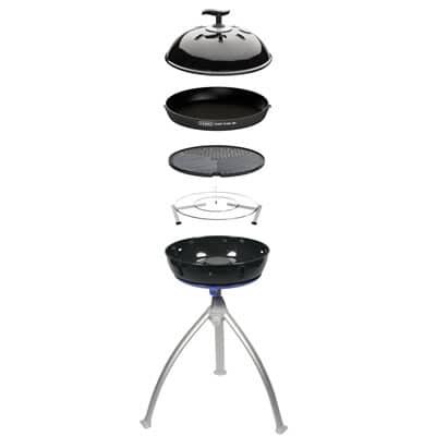 Cadac Grillo Chef 2 BBQ/Chef Pan Combo Gas BBQ