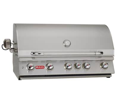 Bull Brahma Built In Gas BBQ (Natural Gas)