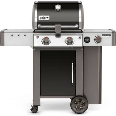 Weber® Genesis® II LX E-240™ GBS™ Black Gas BBQ