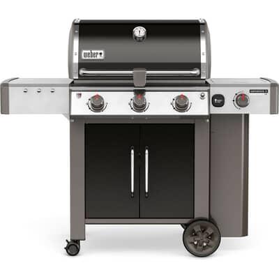 Weber® Genesis® II LX E-340™ GBS™ Black Gas BBQ