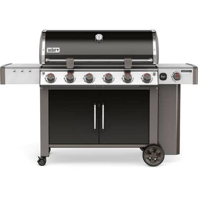 Weber® Genesis® II LX E-640™ GBS™ Black Gas BBQ