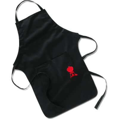 Weber® Apron - Black -  Adjustable Strap