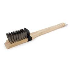 Broil King Deep Bristle Grill Brush - Wood