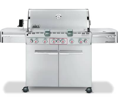 Weber� Summit� S-670 GBS� Stainless Steel Gas BBQ