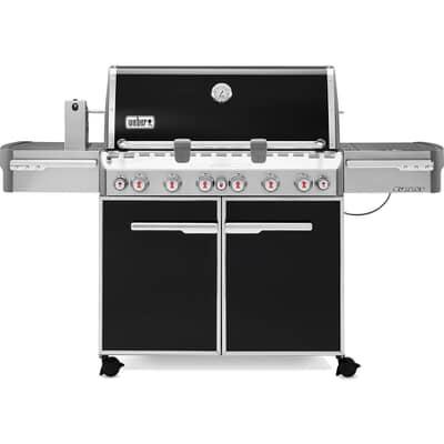 Weber® Summit® E-670 GBS™ Black Gas BBQ