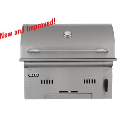 Bull Bison Built In Charcoal BBQ - 88787 2019 Model