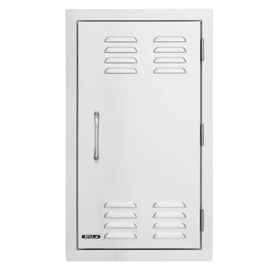 Bull Large Vertical Door for Gas Bottle Access - Vented