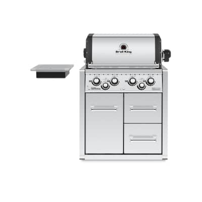 Broil King Imperial 490 - Built In w/Cabinet NG