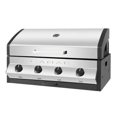 Cadac Meridian 4 Burner Built In Stainless Steel Gas BBQ