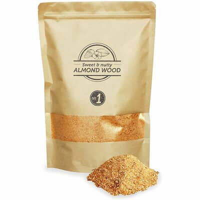 Smokey Olive Wood Smoking Dust N�1 - 1.5 L - Almond Wood