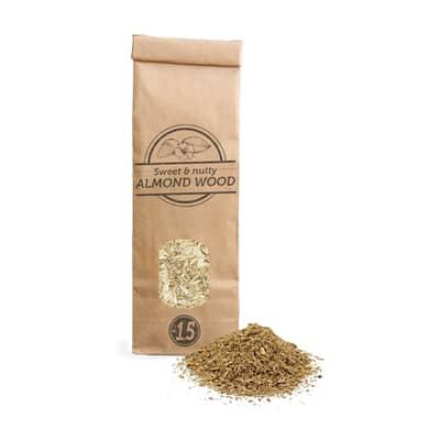 Smokey Olive Wood Woodchips N�1.5 for smoking gun - 300 ml - Almond