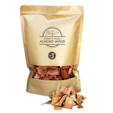 Smokey Olive Wood Smoking Chips N�3 - 1.7 L - Almond Wood