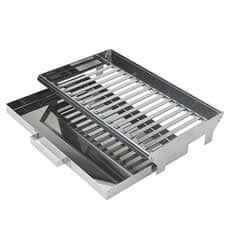 Buschbeck Stainless Steel Fire Grate And Ash Pan