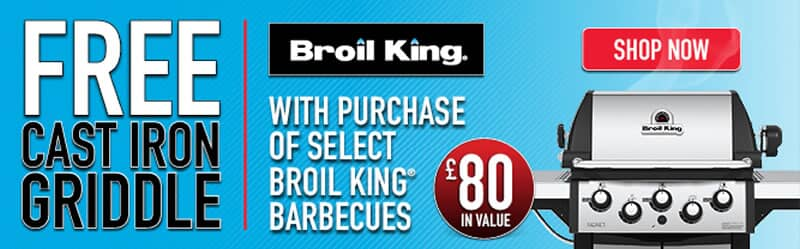 Free Chicken Roaster, Mat and Thermometer with Broil King Barons, Signets and Monarchs