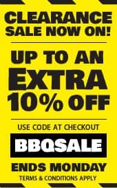 BBQ World Clearance Sale