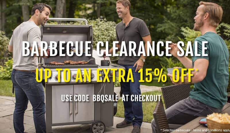 BBQ Clearance Sale Now On