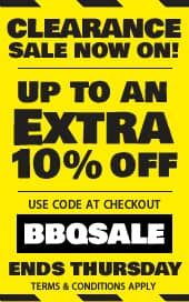 BBQ World Clearance Sale