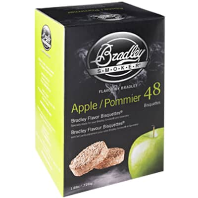 Bradley Smoker Flavour Bisquettes 48 Pack - Apple