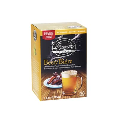 Bradley Smoker Flavour Bisquettes 48 Pack - Beer