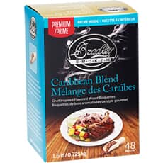 Bradley Smoker Flavour Bisquettes 48 Pack - Caribbean Blend