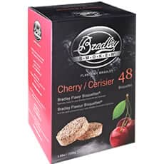 Bradley Smoker Flavour Bisquettes 48 Pack Cherry Flavour